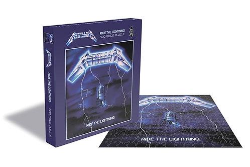 פאזלMetallica - Ride The Lightning Jigsaw