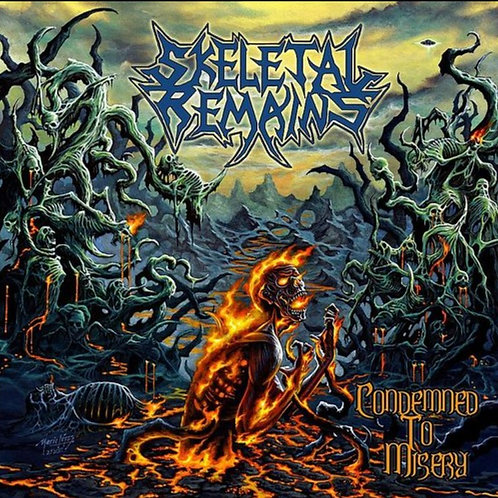 Skeletal Remains– Condemned To Misery