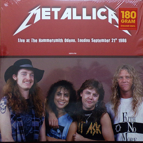 Metallica – Live At The Hammersmith Odeon, London September 21th