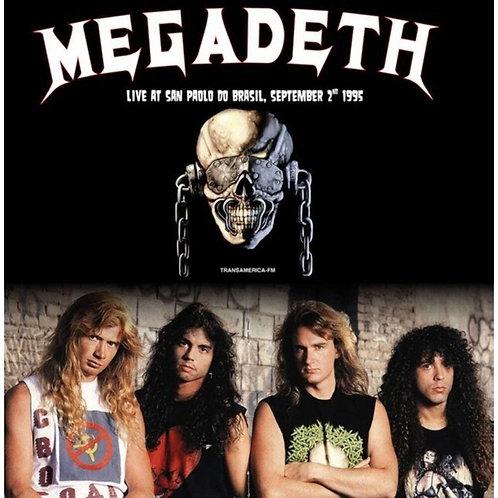 Megadeth – Live At San Paolo Do Brasil, September 2nd 1995