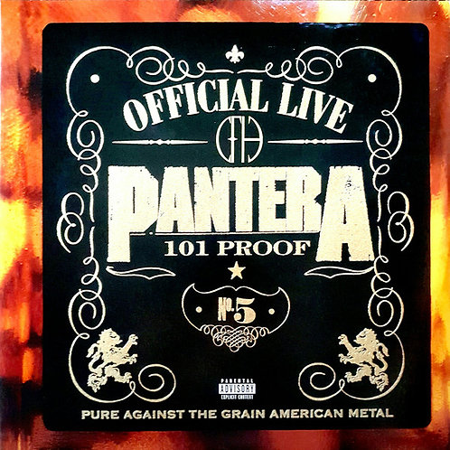 Pantera – Official Live: 101 Proof