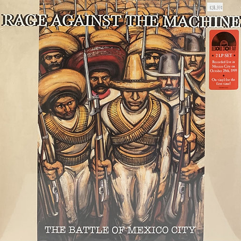 Rage Against The Machine – The Battle Of Mexico City