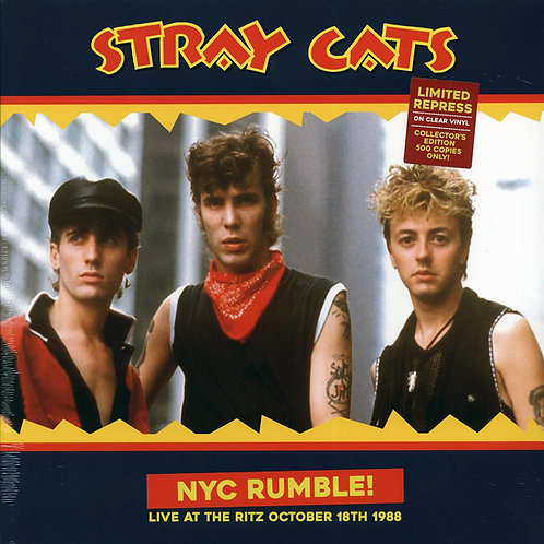 Stray Cats – NYC Rumble! (Live At The Ritz October 18th 1988)