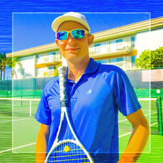 This past week I played/coached tennis for 60 miles (or 125,000 steps) That's akin to downtown Long Beach to downtown Los Angeles and back