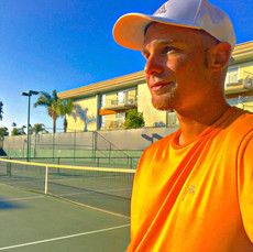 Time for some tennis, blue skies, and the SUN