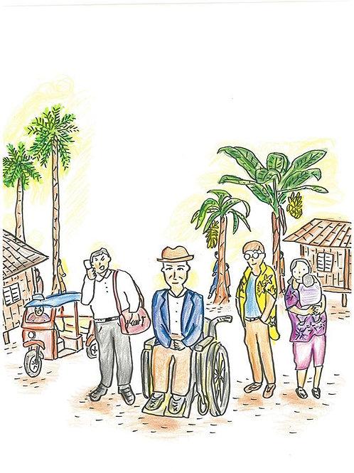 Retire Men(Theatre Play in Bangkok)
