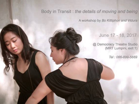 Body in Transit: the details of moving and being
