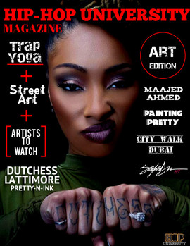 Hip Hop University Magazine Art Edition