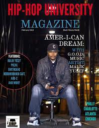 Hip Hop University Magazine Volume 3