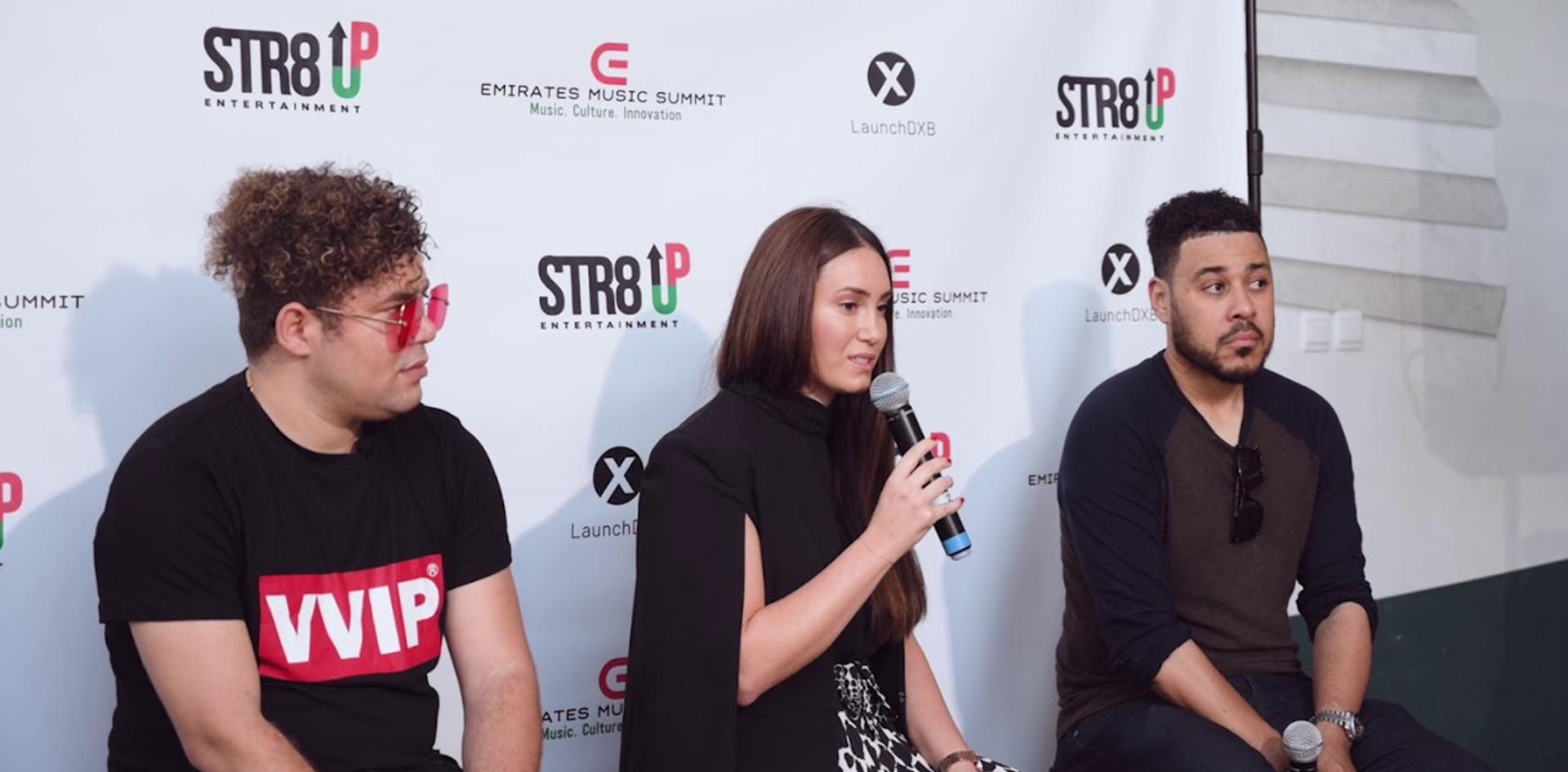 Emirates Music Summit (Behind the scenes)