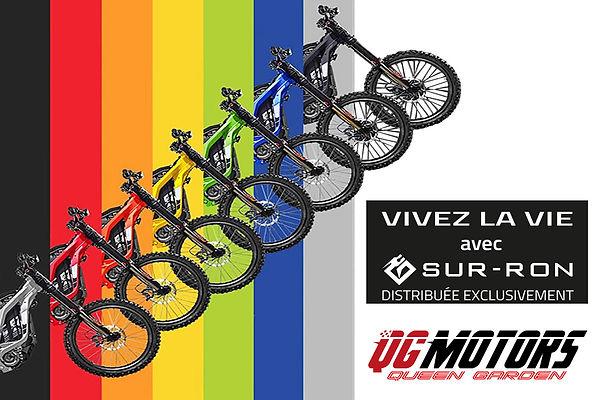 Sur Ron Bike sept 7 couleur  de Sur-Ron