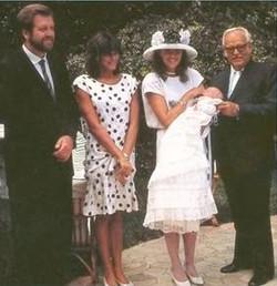 doopsel prins Andrea Monaco