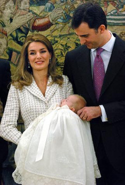 doop prinses Sofia Spanje
