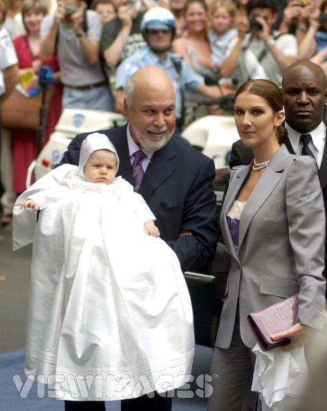 Renè-Charles, zoon van Céline Dion