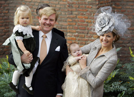 doopsel prinses Alexia Nederland