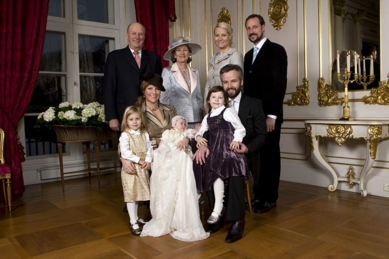 doopsel prinses Emma Noorwegen