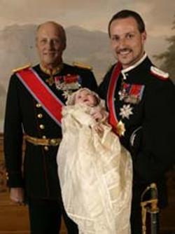 doopsel prinses Ingrid van Noorwegen