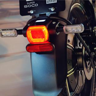 Rear high visible led