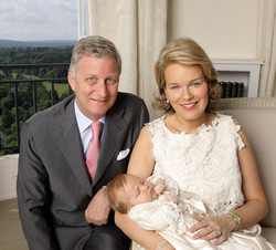 doopsel prinses Eleonore België