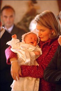 doopsel prins Gabriël België