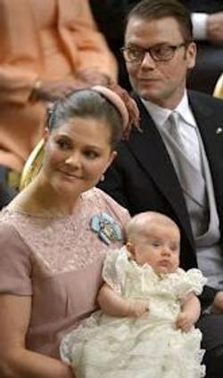doopsel prinses Estelle Zweden