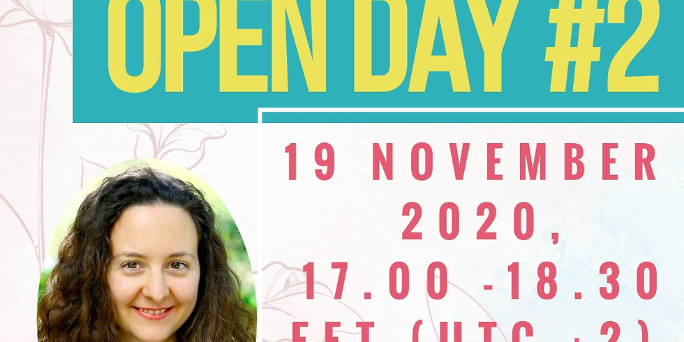 Open Day #2  (free online event)