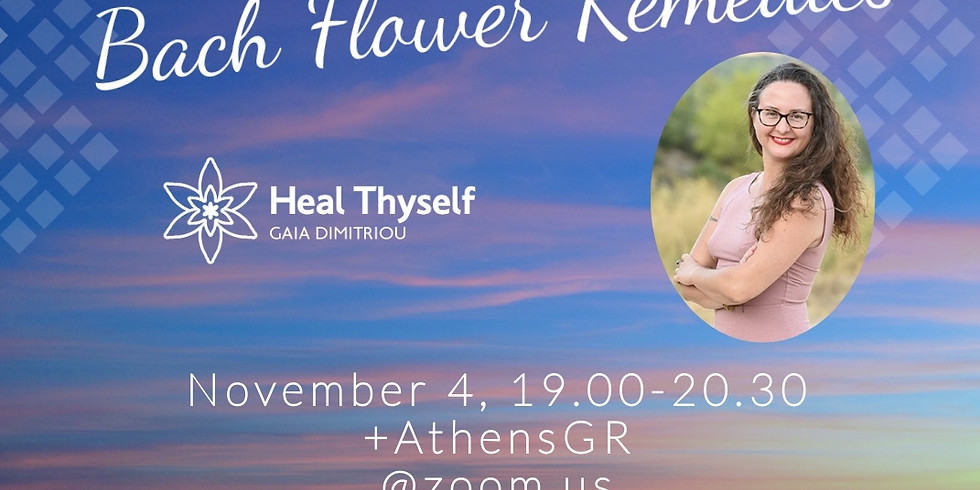 Open Day Bach Flower Remedies (free online event)