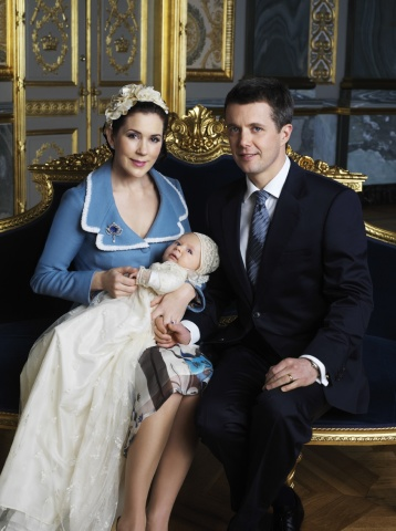 doop prins Christian Denemarken