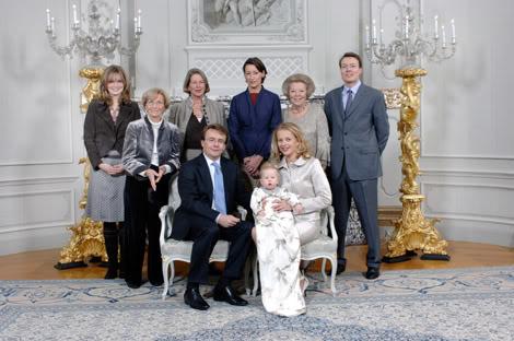 doopsel prinses Luana Nederland