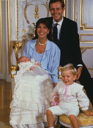 doopsel prinses Charlotte Monaco