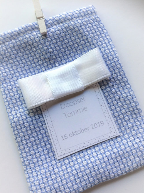 doopsel gifts Tommie blauw