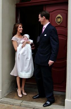 doop prinses Athena Denemarken