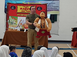 DThe Rabbit and Bear Paws Theatre Company perform