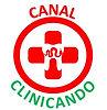 Logotipo CANAL CLINICANDO circular fundo