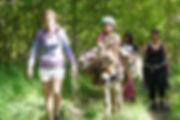 donkey hike chauzon ruoms
