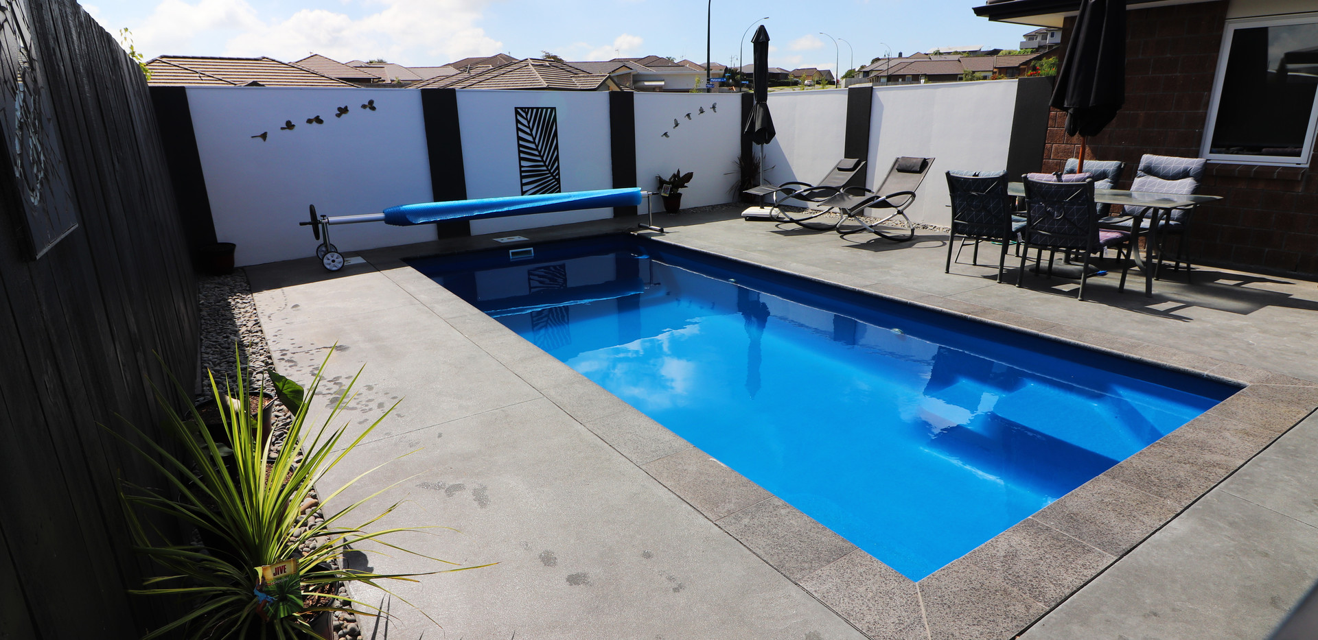 Small family pool