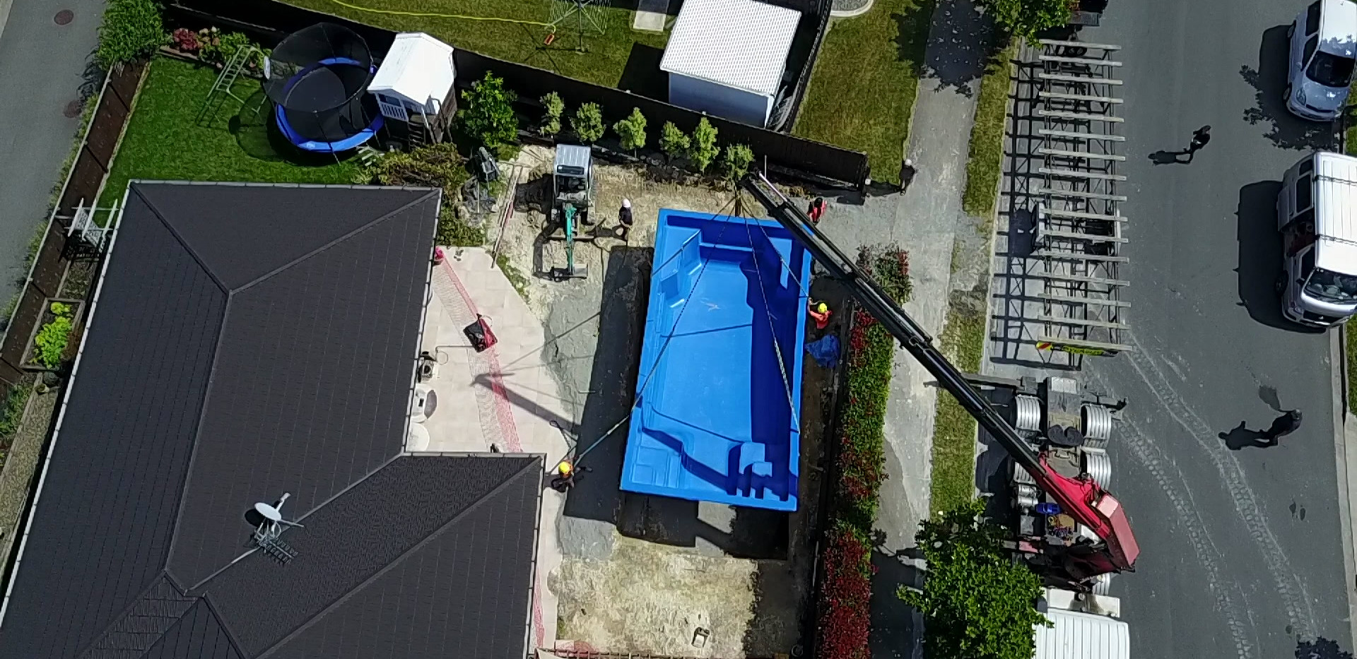 Medium family pool