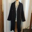Manteau coton et lin