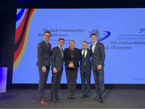 AHK Frankreich / Chambre Franco-Allemande de Commerce et d'Industrie (CFACI) organized the award ceremony for the German-French Prize of Economy last week. An inspiring evening celebrating german-french friendship and economic collaboration!