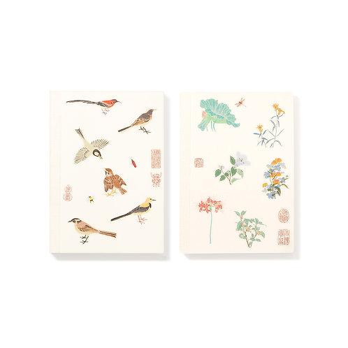 Bird and Flower series – Notebook