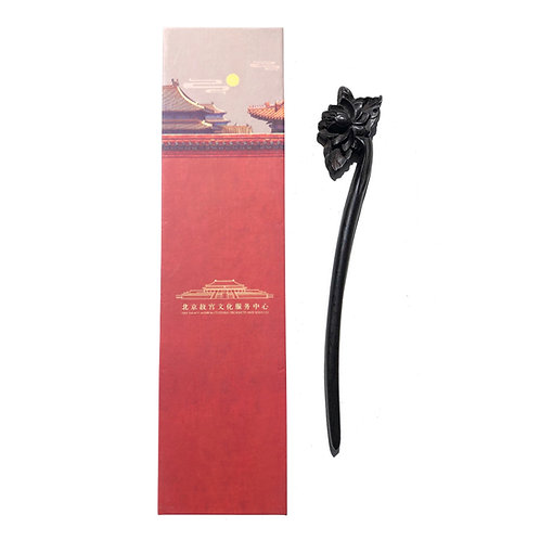 Best Wishes Lotus Hair Pin