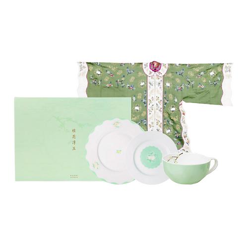 Signature Osmanthus & Jade Rabbit Afternoon Porcelain Tea Set