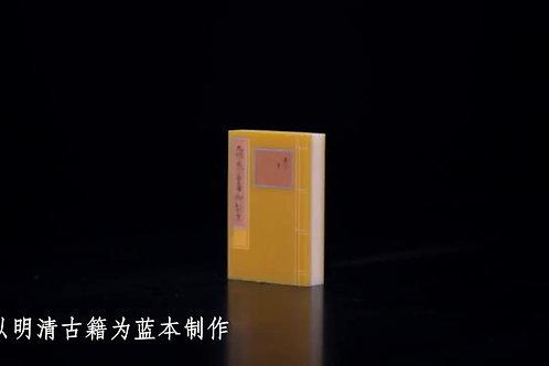 Ancient Book Eraser Set