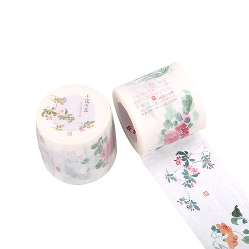 Thousands of Flower in Bloom Decorative Tape
