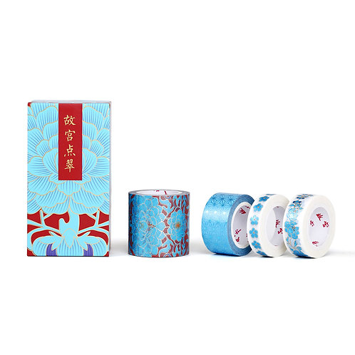 Kingfisher Blue Decorative Tape Set