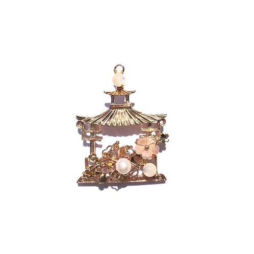 Gong Ting Brooch