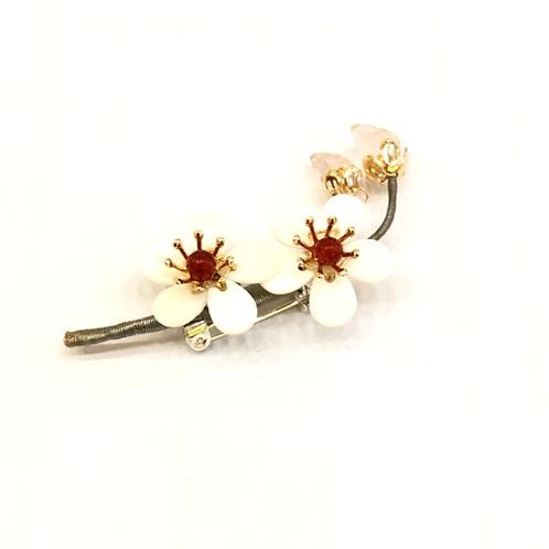 A Plum Blossom Brooch