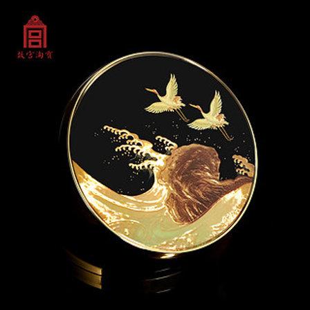 Forbidden City Mythical Crane Blush