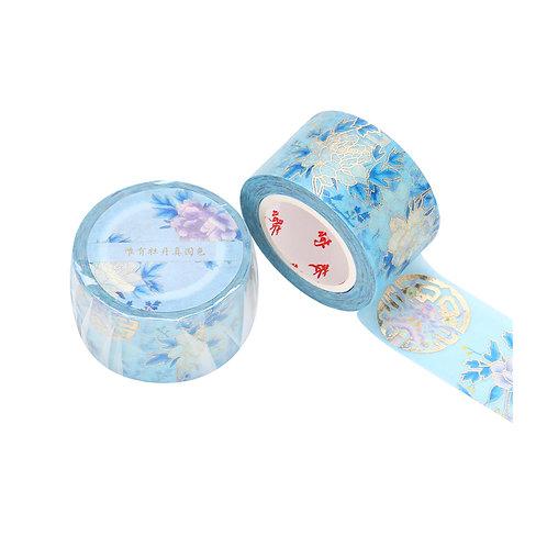 Peonies Decorative Tape