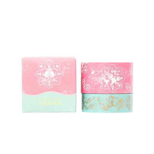 Decoration Tape – Pomegranate Flowers